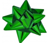 Nekupto Starfish medium metal green 6.5 cm