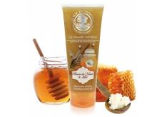 Jeanne en Provence Beurre de Karité & Miel Shea Butter and Honey Shower Peeling Gel with Delicate Fragrance 200 ml