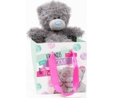 Me to You Teddy bear in gift bag Friends 13 cm