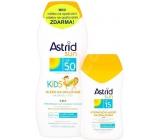 Astrid Sun Kids milk opal.OF50 200ml + milk OF15 1447