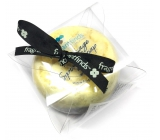 Fragrant Cold Glycerin soap massage with sponge filled with fragrance Armani - Code in yellow-black color 200 ml