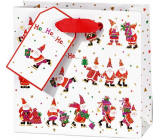 BSB Luxury gift paper bag 14.5 x 15 x 6 cm Santa VDT 002 CD