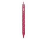 Spoko Flora ballpoint pen, pink, blue refill, 0.5 mm