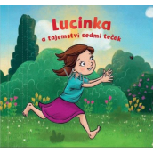 Albi Name book Lucinka and the secret of seven dots 15 x 15 cm 26 pages