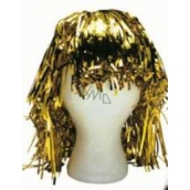 Metallic wig alu short gold