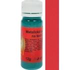 Art e Miss Barva na světlý i tmavý textil 53 metalická tmavá červená 12 g