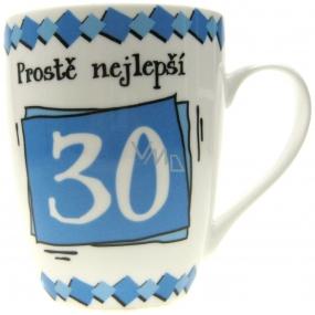 Nekupto Birthday mug Simply the best 30 350 ml