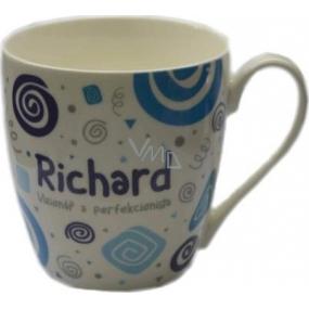 Nekupto Twister mug named Richard Blue 0.4 liter