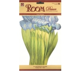Room Decor Wall stickers iris 27 x 16 cm