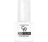 Golden Rose Ice Color Nail Lacquer Nail Polish mini Clear 6 ml