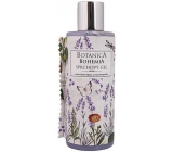 Bohemia Gifts Botanica Lavender with olive oil, herbal extract and yogurt active ingredient shower gel 200 ml
