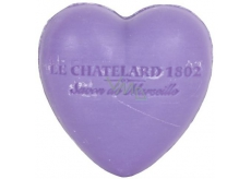 Heart shaped soap - Violet and blackberry 25g