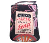 Albi Foldable bag with zipper named Alena size: 42 cm × 41 cm × 11 cm