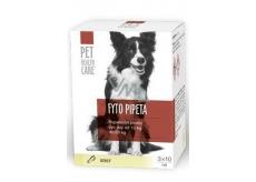 Pet Health Care Phytopipette Repellent pipette dog 10-20 kg 3 x 10 m DISCOUNT 01.01 / 2019