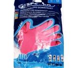 Spokar Rubber gloves for household size 8 - M