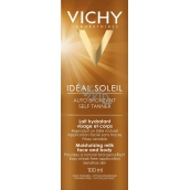 Vichy Capital Soleil Moisturizing self-tanning milk for face and body 100 ml