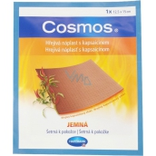 Cosmos Warm patch with capsaicin soft 12.5 x 15 cm