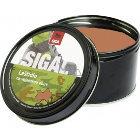 Sigal Brown Military polish shoe polish 250 g
