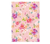 Ditipo packing papers 2pcs 70x100cm - pink with flowers