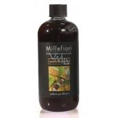 Millefiori Natural Sandalo Bergamotto - Santal wood and bergamot Diffuser filling for fragrant straw 500 ml