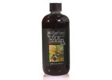 Millefiori Milano Natural Sandalo Bergamotto - Sandalwood and Bergamot Diffuser filling for incense stalks 500 ml