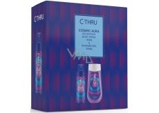C-Thru Cosmic Aura deodorant spray for women 150 m + shower gel 250 ml, cosmetic set