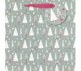 Nekupto Gift paper bag medium 23 x 23 cm Christmas 1512 WLIM