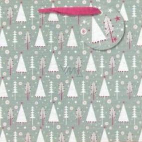 Nekupto Gift paper bag 23 x 23 cm Christmas 1512 WLIM