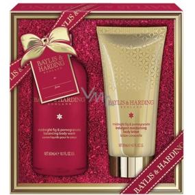 Baylis & Harding Fig and Pomegranate shower gel 300 ml + body lotion 200 ml, cosmetic set