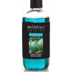 Millefiori Milano Natural Mediterranean Bergamot - Mediterranean bergamot Diffuser filling for incense stalks 500 ml