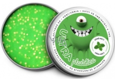 EP line Intelligent Ultra plasticine shining in the dark with a mint aroma and glitters of 80 g