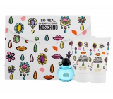 Moschino So Real Cheap and Chic eau de toilette for women 4.9 ml + shower gel 25 ml + body lotion 25 ml, gift set