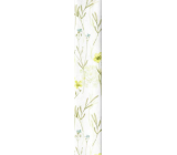 Ditipo Wrapping paper white meadow flowers 100 x 70 cm 2 pieces