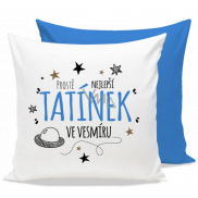 Nekupto Gift Center Pillow with dedication Best Daddy 30 x 30 cm