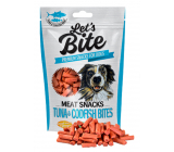 Brit Lets Bite Tuna and cod meat rolls supplementary dog food 80 g