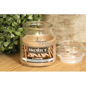 Lima Aroma Dreams Cinnamon aromatic candle glass with lid 120 g