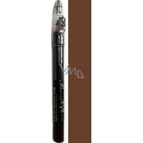 Princessa Fashion Best Color waterproof shading eye pencil 03 Brown with glitter 3.5 g