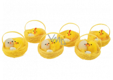 Chick in a basket 5 cm 1 piece
