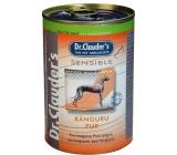 Dr. Clauders Sensible Klokaní maso, pro dospělé citlivé psy 100% masa 400 g