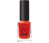 Dermacol 5 Day Stay Long-lasting nail polish 19 Red Carpet 11 ml