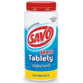 Savo Maxi Chlorové tablety do bazénu dezinfekce 1,4 kg