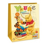 Ditipo Gift paper bag 26.4 x 12 x 32.4 cm Disney Winnie the Pooh, Youre Great Reader