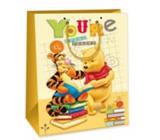 Ditipo Disney Child Gift Bag L Medvídek Pú, Youre Great Reader 26,4 x 12 x 32,4 cm