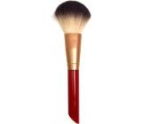 Kosmetický štětec na pudr s červenou rukojetí 17 cm 30350-04