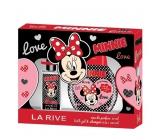 La Rive Disney Minnie Mouse perfumed water 90 ml + bath foam 250 ml, cosmetic set