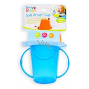 First Steps Mug with two handles blue 236 ml