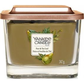 Yankee Candle Pear & Tea Leaf Elevation Medium Glass 3 Wicks 347 g