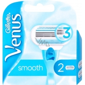 Gillette Venus Smooth spare head for women 2 pieces