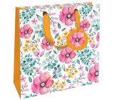 Nekupto Gift paper bag luxury 23 x 23 x 10 cm 1841 LIM