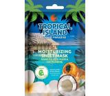 Marion Tropical Island Tahiti Paradise textile moisturizing face mask 1 piece